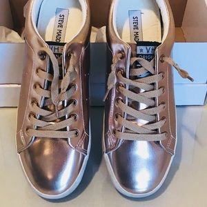 Steve Madden - Rose Gold Sneakers